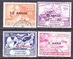 SOMALILAND  112-15  UPU  (o) - Somaliland (Protectorate ...-1959)