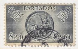 Barbados 247  (o)  SEAL - Barbados (...-1966)