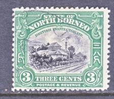 North Borneo 169   (o)   TRAIN STATION - North Borneo (...-1963)