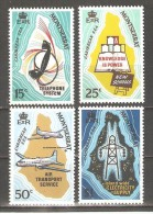Montserrat 1969 Maps ,QE II Economic Development, Scott # 216-19,VF Mint  Lightly Hinged - Montserrat