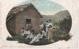 ETATS UNIS DU BRESIL ( Santos Cabane Des Indiens De La Porte Du Roi ) - Brasil