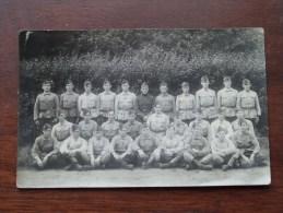 Peloton / Groep Soldaten ( ID - 6 Op Pet ) Anno 19?? ( Zie/voir Foto Voor Details ) !! - Personen