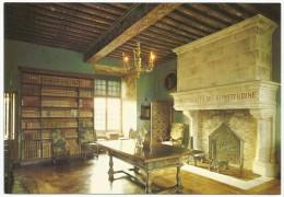 La Roche Courbon - Château - Salon Du XVIIe Aux Poutres Louis XIII - Francia