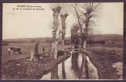 MOURS  Seine Et Oise     Le Ru Et La Forèt De Carnelle  ANIMEE   Ecrite Le 14 12 1916 - Mours