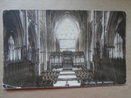 35874 PC: YORKSHIRE: The Choir, York Minster. - York