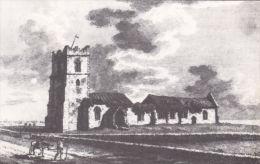 DUNWICH - ALL SAINTS CHURCH 1776, REPRINT.