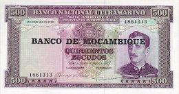 Mozambique 500 Escudos (1976)  Pick 118 UNC - Mozambico