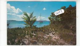 """CPM - Iles Vierges - Ste Croix - Arrivée Du """" Wanderlust"""" - Postales"""