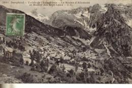 Vallee De L Eau D Olle  Le Rivier D Allemont Et Massif Des Sept Laux - France