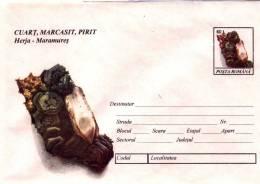 MINERAL Entier Postal Stationery K1994032 - Registered Shipping! Envoi Enregistre! - Minerali