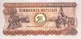 Mozambique 50 Meticais 1980  Pick 125 UNC - Mozambique