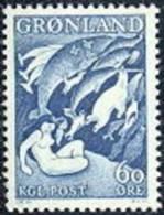 Groenland 1956-71 Sagemotief I Blauw PF-MNH-NEUF - Nuovi