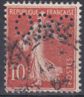FRANCE YT N° 135 OBL PERFORE  PERFIN - Francia