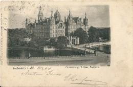 Allemagne   SCHWERIN I  M -  Grossherzogl Schloss Stadtseite ( Voir Timbres Verso ) - Schwerin