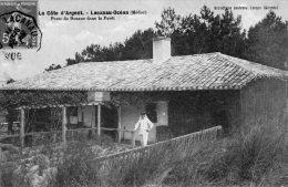 CPA   33   LACANAU-OCEAN----POSTE DE DOUANE DANS LA FORET---1911 ?