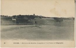 20 Zinder Batiments Du Bataillon Tirailleurs Senegalais No 3 Et Postes Telegraphes PTT - Niger