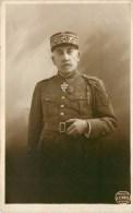 Carte Photo - Rare -Général Balambois - Photographe; A. Schnell à Oran. Carte En Très Bon état -voir 2 Scans - War 1914-18