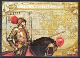 ESPAÑA 2000 - 500 AÑOS DEL NACIMIENTO DE CARLOS V - Edifil Nº 3699 - Yvert Block 82 - 1991-00 Unused Stamps