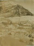 04 CONDAMINE CHATELARD  Photo Format  110 X 85  Vallée Sous La Neige  2 Scans - Non Classés