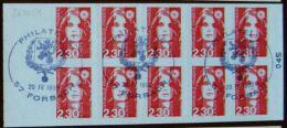 Carnet Usage Courant Briat 2630 C1 Oblitéré - Definitives