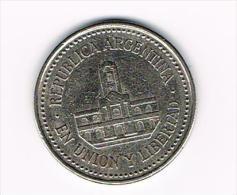¨ ARGENTINA  25  CENTAVOS  1994 - Argentine