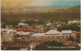 Caracas Teatro Municipal  Edit Chirinos Ship Postmark Paquebot Cristobal On British Stamp 1932 Panama - Venezuela