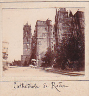 BI- 2 Photos Stereoscopiques 40x45mm Vers 1900. France Aveyron -montagne Environs Laguiole - Cathedrale Rodez - Photos Stéréoscopiques
