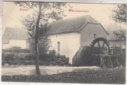 Bilzen - Bilsen - Brouckemmolen - Watermolen - Geanimeerd - 1913 - Uitg. W-B L. - Bilzen