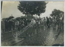 (Cyclisme) Départ Des 120 Km. Circuit Du Palatinat 1924 à Ludwigshafen. Tramway Oggersheim. - Cyclisme