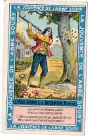 CHROMOS, LA JOUVENCE DE L'ABBE SOURY (Le Vieux Arbre & Le Jardinier - Florian), Chromo R. SENEGAUT - ROUBAIX-PARIS - Chromos