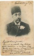 Muzaffr Ed Din Schah Von Persien Perse  Ateliers Wagner 1902 From Karlsbad To Arad - Iran
