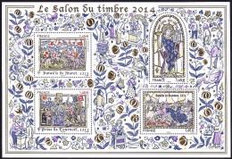 France BF N° F 50.0602 ** Bloc Doré Planète Timbres - Paris 2014 - Mint/Hinged