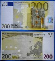 GERMANY 200 EURO X 2002 R001 G1 DUISENBERG - EURO
