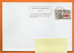 MAURY N° 2164  26 VALENCE 2000   ( Flamme Concordante) Lettre Entière N° R 291 - Marcophilie (Lettres)