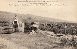 CPA BEAUNE (21) Vendanges 1928 Maison Patriarche Clos St Charles TB - Beaune