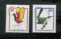 Antigua ** N° 1830/1831 - Série Courante. Oiseaux (II) - Antigua And Barbuda (1981-...)
