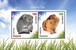 GUYANA ; SCOTT ; IGPC # 1413 S ; MINT N H STAMPS ( GUINEA PIGS - Guyana (1966-...)