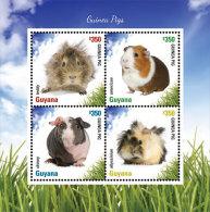 GUYANA ; SCOTT ; IGPC # 1414 SH ; MINT N H STAMPS ( GUINEA PIGS - Guyana (1966-...)