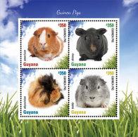 GUYANA ; SCOTT ; IGPC # 1413 SH ; MINT N H STAMPS ( GUINEA PIGS - Guyana (1966-...)