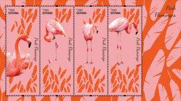 GUYANA ; SCOTT ; IGPC # 1416 SH ; MINT N H STAMPS ( BIRDS ; FLAMINGO - Guiana (1966-...)
