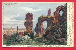 148731 / Germany Art Friedrich Perlberg  - ROMA ROME VISTA DAL PALATINO Italia Italy - CA&Co  1 - Perlberg, F.