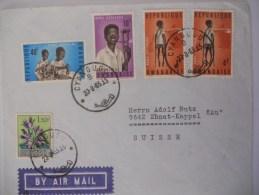 Rwanda Lettre De Cyangugu 1965 Pour La Suisse - Rwanda