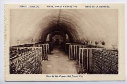 Espagne-JEREZ DE LA FRONTERA - Pedro DOMECQ - Vinos Conac Y Grand Vin-Una De Las Cuevas Del Gran Vin  éd HMS - Espagne