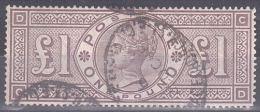 GB - 1884 - Victoria - YT n�  89 (SG n� 185) - TB - Lettres D-C