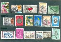 1966  BELG Y & T N° 1360 1361 1362 1367 1374 1375 1377 1378 1379 1381 1382 1386 1390 1396 1397 1397 1400 ( O ) - Used Stamps