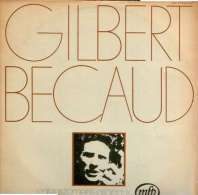 * LP *  GILBERT BECAUD -  ENREGISTREMENTS ORIGINAUX (Italian Pressing) - Vinylplaten