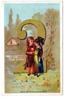CHROMOS & IMAGES, IMAGE, 2, Qu'il Est Doux D'être Deux, Vierge - Vieux Papiers