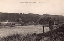 """FONTAINE Sur SAONE """" L'Ile Roy"""" - Francia"""