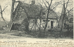 Asse -Rustige oud hoeve -1903 ( verso zien )