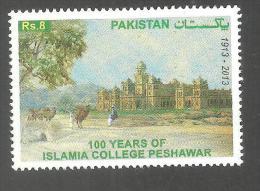 PAKISTAN  100 YEAR OF ISLAMIA COLLEGE PESHAWAR  2013 MNH - Pakistan